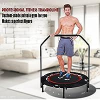 Preisvergleich für Joyda Fitness Trampolin Sport Faltbar mit Haltestange Indoor Rebounder Gymnastik Trampolin für Erwachsene