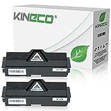 2 Toner kompatibel zu Kyocera TK-170 TK170 für Kyocera FS-1320D, FS-1370DN, ECOSYS P2135DN, P2100 Series - 1T02LZ0NL0 - Schwarz je 7.200 Seiten