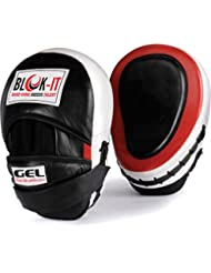 Manoplas Boxeo con GEL : Por BLOK-iT (Rojo)