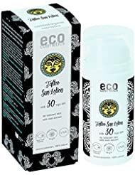 eco cosmetics Tattoo Sonnenlotion LSF30 100ml (bio, vegan, Naturkosmetik)