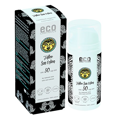 eco cosmetics Tattoo Sonnenlotion LSF30 100ml (bio, vegan, Naturkosmetik)