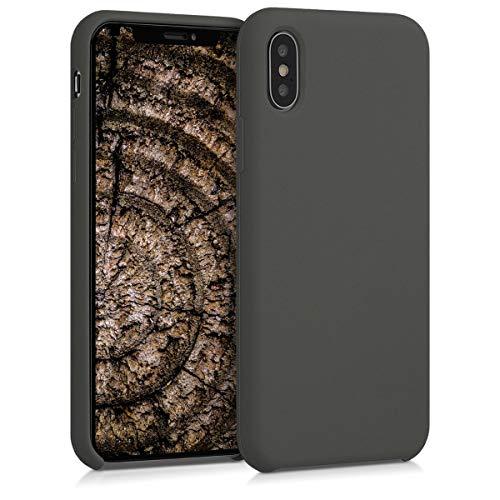 kwmobile Apple iPhone X Hülle - Handyhülle für Apple iPhone X - Handy Case in Olivgrün