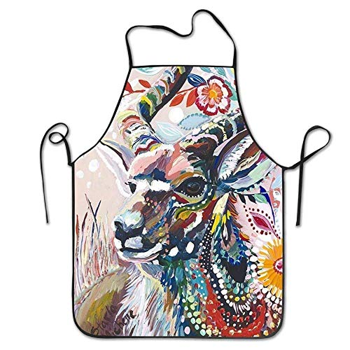 FOSHANSH Funny Apron Chef Kitchen Cooking Apron Bib Lilly Pulitzer Inspired Pineapple Cooking Easy Care Size 72CM x 52CM (Lilly Pulitzer Haar)