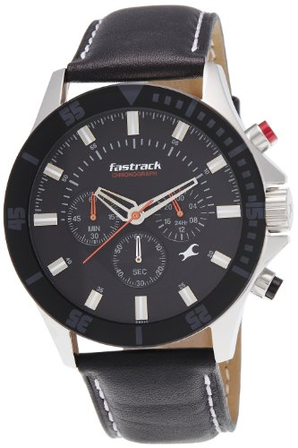 Fastrack Fastrack His and Her Analog Black Dial Men's Watch