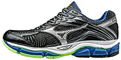 Mizuno Men Wave Enigma 6 Running Shoes, Grey (Dark Shadowsilvernautical Blue), 10.5 Uk 45 Eu