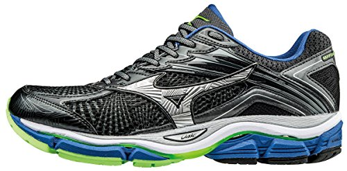 Mizuno Wave Enigma, Scarpe Running Uomo, Grigio (Dark Shadow/Silver/Nautical Blue), 40.5 EU