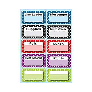 Ashley Productions ASH10092 Classroom Jobs Magnetic Time Organizers