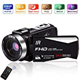Best Camcorders - Camcorder 1080P 30FPS Portable Handheld IR Night Vision Review