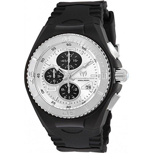 technomarine-womens-cruise-40mm-black-silicone-band-steel-case-quartz-silver-tone-dial-watch-tm-1152