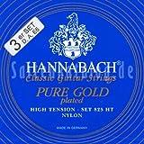 Hannabach 8257 HT Pure 24 Carat Gold-Plated, 3-Bass Set