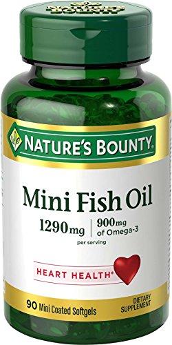 Nature's Bounty Mini Fish Oil, 1290mg, 90 Count
