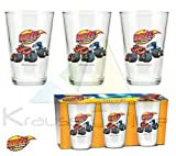 Blaze And The Monster Machine Set 3Gläser Glas 23,7CL (Suncity bla102360)