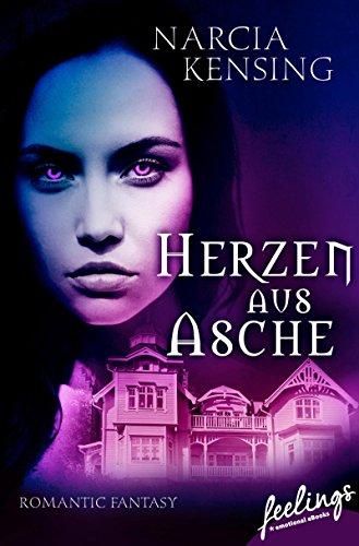 Buchseite und Rezensionen zu 'Herzen aus Asche: Romantic Fantasy' von Narcia Kensing
