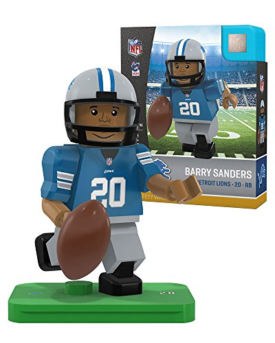 Detroit Lions Barry Sanders Retired Legend Limited Edition OYO Minifigure (Detroit Lions Uniformen)