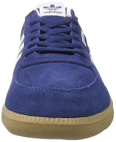 adidas Leonero, Sneakers Basses Homme Bleu (Mystery Blue /ftwr White)