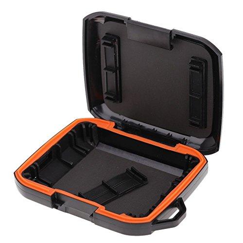Festplatte Gehaeuse - TOOGOO (R) Staub- und wasserdichte Anti-Schock 2,5¡° Portable HDD-Festplatte Rugged Tasche fuer Western Digital WD (Radfahren Schocks)