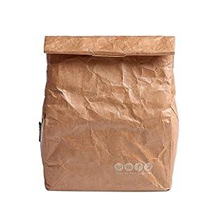 Yvonnelee Büro Mittagessen Tasche Lunchtasche Thermotasche Kühltasche Isoliertasche für Lebensmitteltransport Isoliert 6 Liter Klein