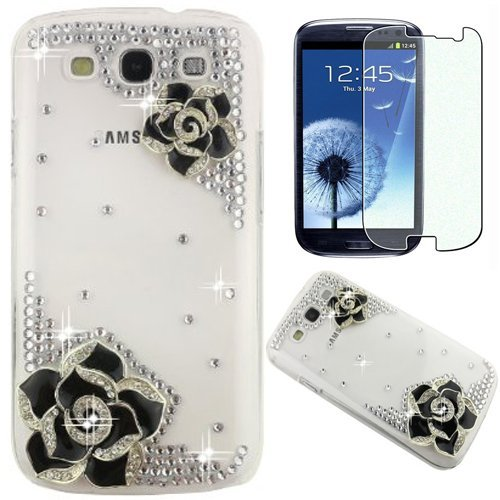 semoss-2-en-1-set-accessories-transparent-bling-strass-coque-fleur-etui-housse-cover-rigide-pour-sam