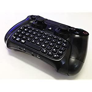 PS4ワイヤレスキーボード [コントローラーに取付可能] WIRELESS KEYBOARD for PS4 Contoller ミニキーボード