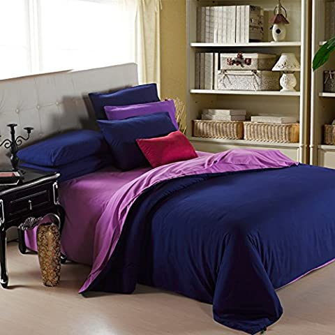 200TC More Colors - European style Polyester Solid Pattern Duvet