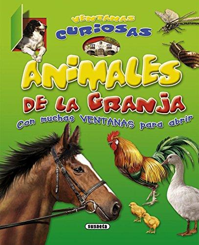 Animales de la granja (Ventanas curiosas) por Equipo Susaeta