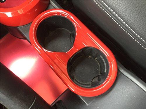 Preisvergleich Produktbild Opar Red Center Cup Halter Akzent f¨¹r 2007 - 2010 Jeep JK Wrangler & Unlimited