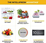 Whirlpool 265 L 3 Star Frost Free Double Door Refrigerator(IF INV 278 ELT COOL ILLUSIA STEEL (4S))
