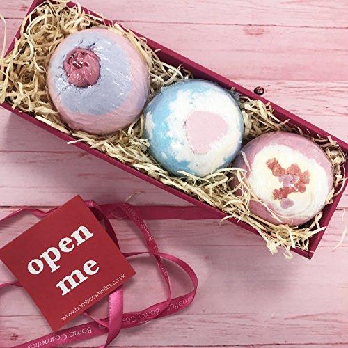 * Bomb Cosmetics – Set da regalo con 3 bombe da bagno miglior prezzo