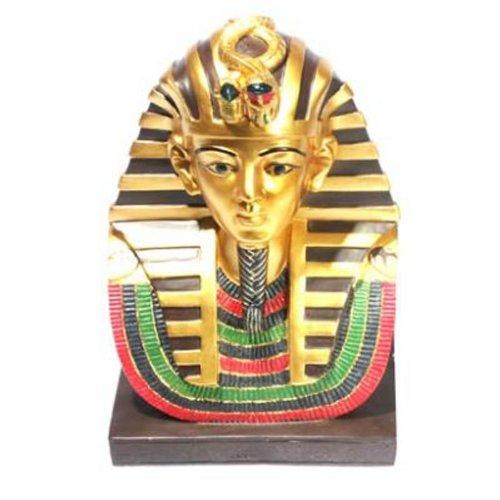 Puckator ES23 Figurine Sarcophage Anubis et Momie Or/Noir
