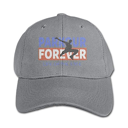 Parkour Forever Pure Color Baseball Cap Cotton Adjustable Kid Boys Girls Hat (Fox-head Forever)