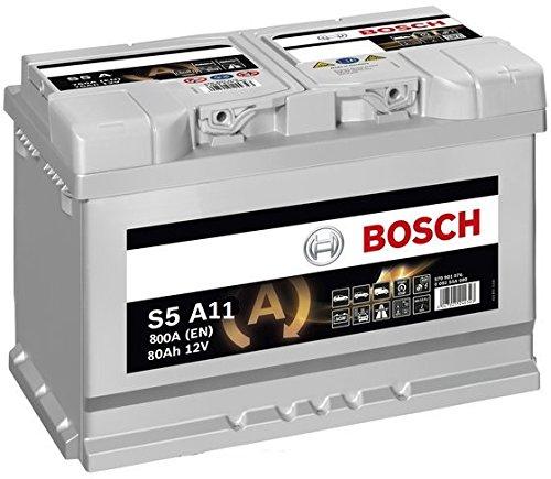 Preisvergleich Produktbild Bosch 0092S5A110 Batterie AGM 12 V 80 mAh 800 A B13