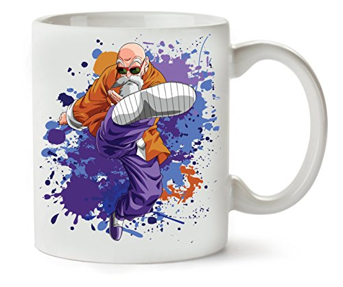 Master Punch | Dragon Ball | Dbz | Master Roshi | Manga | Anime Series | Super Hero | Power | Swag |...
