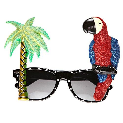 neu-brille-tropicana-mit-palme-und-papagei