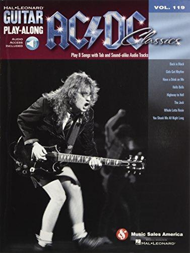 Guitar Play-Along Volume 119: AC/DC Classics: Play-Along, CD für Gitarre - Tabs Ac