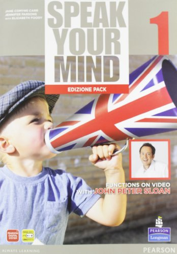 Speak your mind. Student's book-Workbook. Per le Scuole superiori. Con espansione online: 1