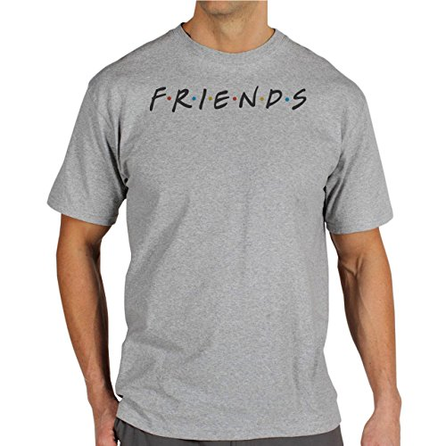 Friends Background Herren T-Shirt Grau