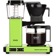 Moccamaster KBG 741 AO Independiente - Cafetera (Independiente, Cafetera de filtro, 1,