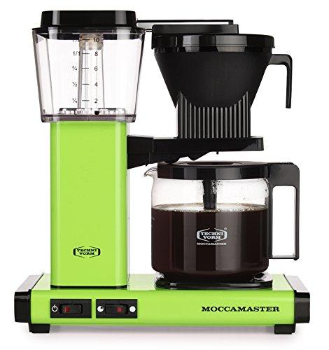 Moccamaster Filter Kaffeemaschine KBG 741 AO, 1.25 Liter, 1520 W, Fresh Green