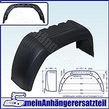 SCHUTZBLECH KOTFL/ÜGEL 14 ZOLL ECKIG 342036 PKW ANH/ÄNGER METALL