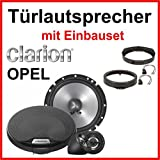 Opel Corsa B / C Lautsprecher mit Einbauset