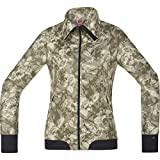 Gore Bike WEAR Damen Warme Soft Shell Mountainbike-Jacke, Stretch, Gore Windstopper, Power-Trail Lady Print WS SO Jacket, Größe: 40, Camouflage, JWSFLP