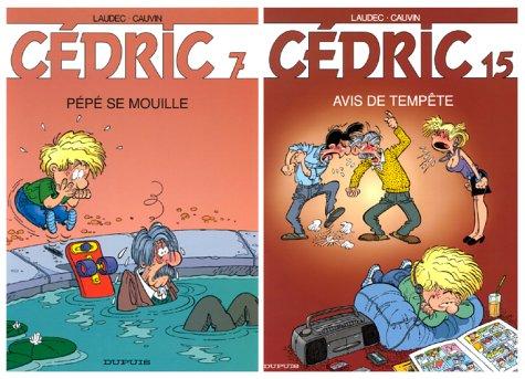 2 BD pour le prix d'1 : Cédric, tome 15 + le tome 7 gratuit