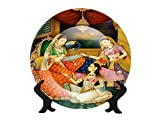 #5: CERAMIC DECORATIVE PLATE FOR TABLE & WALL DECOR FROM COLORVISTA