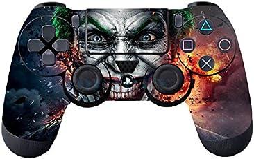 Elton PS4 Controller Designer 3M Skin for Sony PlayStation 4 , PS4 Slim , Ps4 Pro DualShock Remote Wireless Controller - Joker , Skin for One Controller Only