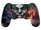 #6: Elton PS4 Controller Designer 3M Skin for Sony PlayStation 4 , PS4 Slim , Ps4 Pro DualShock Remote Wireless Controller - Joker , Skin for One Controller Only