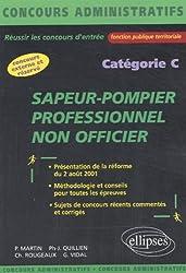 Sapeur-Pompier professionnel non officier. Catégorie C