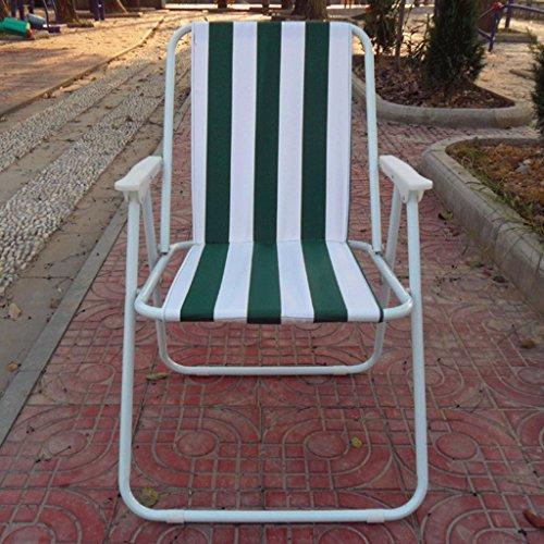 JHEY Outdoor-Klappstuhl tragbaren Strandstuhl Camping Angeln Stuhl Erwachsene zurück Freizeit Stuhl Schlafsaal Einfachen Klappstuhl (Color : C)