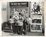Original Photograph Tacos Joven El Poder De Los Hijos Armando Soto El Chicote Agustin Isunza Fernando Soto