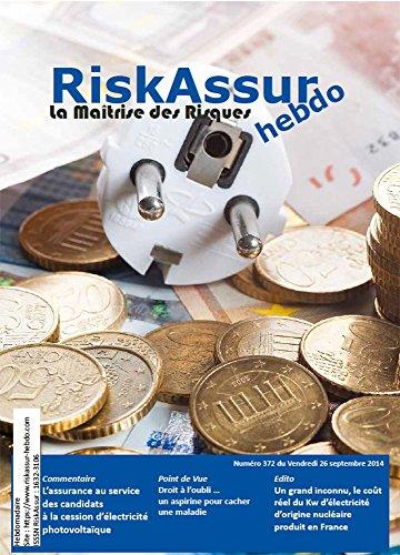 RiskAssur-hebdo n°372 du 26/09/2014