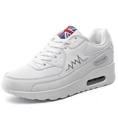 Lazer Branco Sapatos De P Mulheres Desportivo Wealsex Sneaker Calçado qwS6SFxA